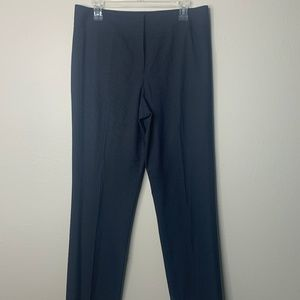 Antonio Melanie Navy Striped Trousers 8
